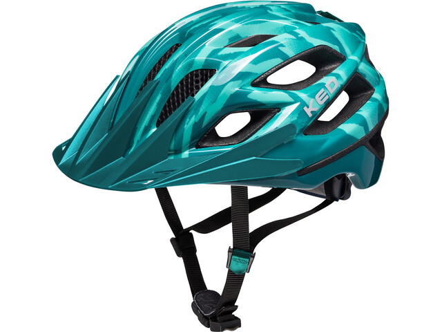 KED Companion Kask rowerowy, green